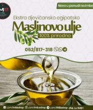 Ekstra djevičansko egipatsko maslinovo ulje